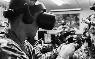 野外作战时既能保护眼睛又可实时获取信息的重要装备——AR战术眼镜
