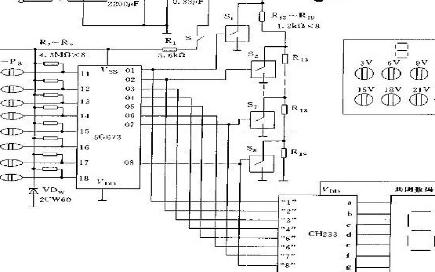 數控直流穩壓電源電路圖