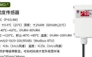 温湿度传感器在智慧养殖中的应用