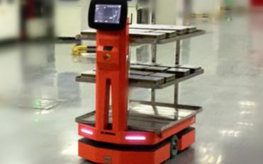 隆博AMR解鎖光伏組件制造商廠內柔性物流新姿勢