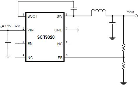 32V同步升压转换器芯片SCT9320