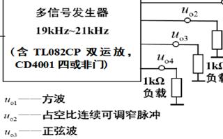 频率可变的多信号发生器设计与实现