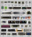 分享一些常用的电子接口以及部分电子元器件符号