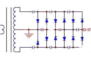 高壓直流電源的變壓器及整流部分的詳細講解