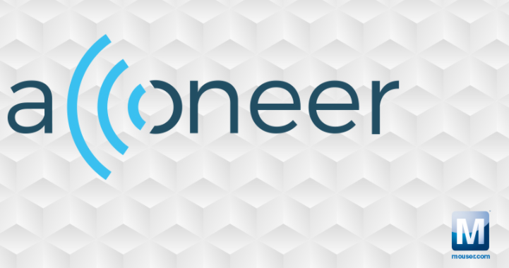 贸泽电子与脉冲相参雷达技术供应商Acconeer签署全球分销协议