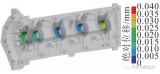 轻型高强度纤维加强塑料凸轮轴模块