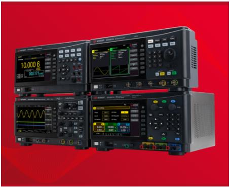 e络盟供货是德科技全新系列智能测试台必备仪器