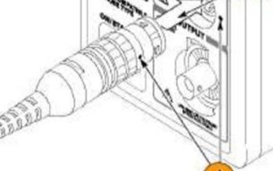如何设置TCPA300电流探头和对应探头进行电流...