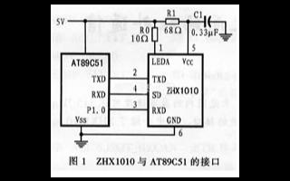 基于串行红外协议收发模块实现红外无线通信电路的设...