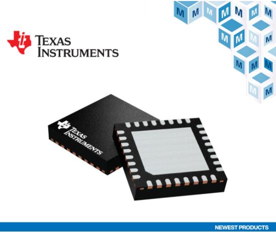 贸泽电子开售适用于楼宇和工厂自动化的Texas Instruments DP83TD510E以太网PHY
