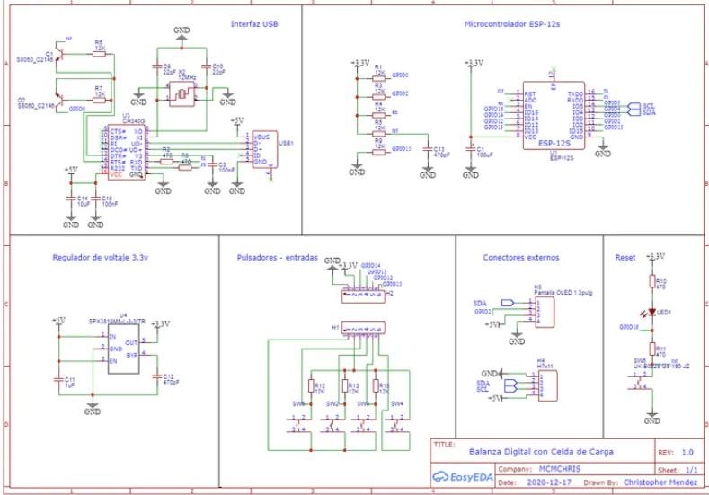 基于使用稱重傳感器放大器-HX711測量數據