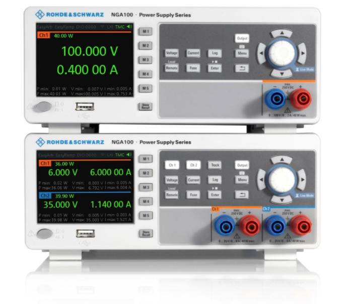 e络盟供货Rohde & Schwarz全新NGA100电源系列