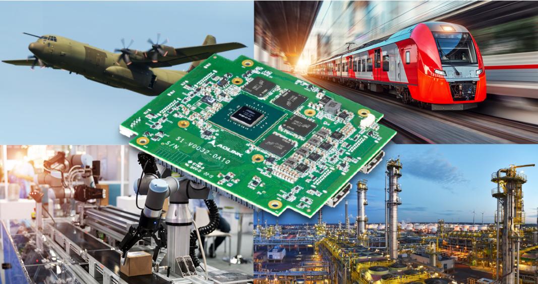 凌华科技推出首款搭载NVIDIA Quadro P1000图形处理功能的PC/104模块