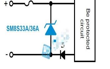 汽车电子12V DC电源线保护方案