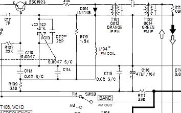 爱华无线电接收机FR-A530/FR-A532维修手册