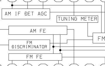 爱华无线电收音机FR-C90维修手册