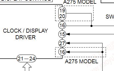 爱华无线电收音机FR-A270/FR-A275维修手册