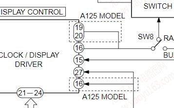 爱华无线电收音机FR-A120/FR-A125维修手册