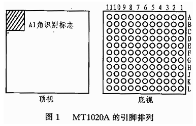 蓝牙基带控制器芯片MT1020A的性能特点、结构...