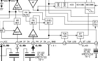 愛華立體聲磁帶放音機HS-TA403維修手冊