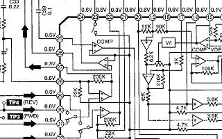 松下立體聲磁帶播放器RQ-SX25V維修手冊