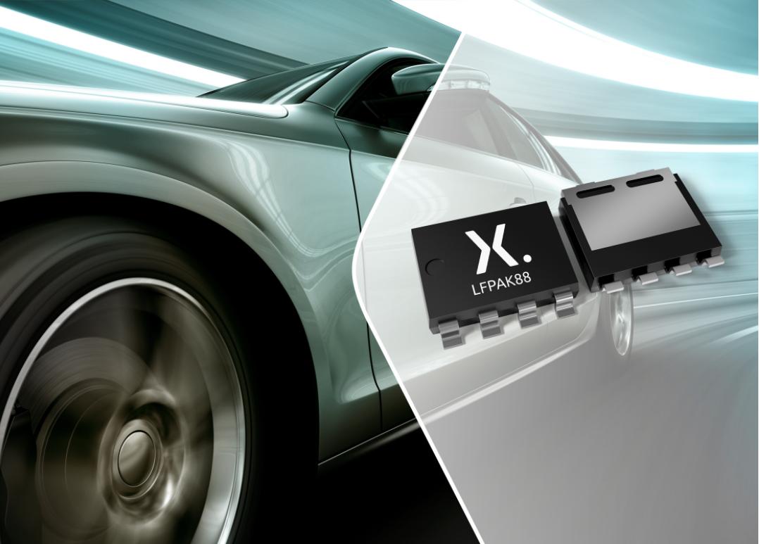 Nexperia新型40V低RDS(on) MOSFET助力汽車和工業應用實現更高功率密度