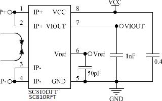 高精度隔離式電流檢測傳感器芯片SC810