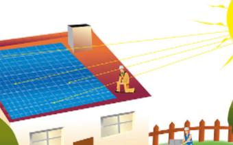 太阳能发电正迅速成为解决电力难题的一个重要方案