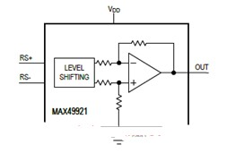 基于MAX4992 0-70V電流檢測放大器解決方案設計