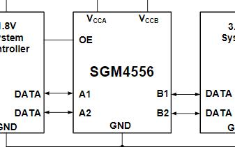 帶自動方向感測的雙向電壓電平轉換器SGM4556