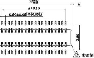 連欣0.5MM板對板連接器產品原理圖下載