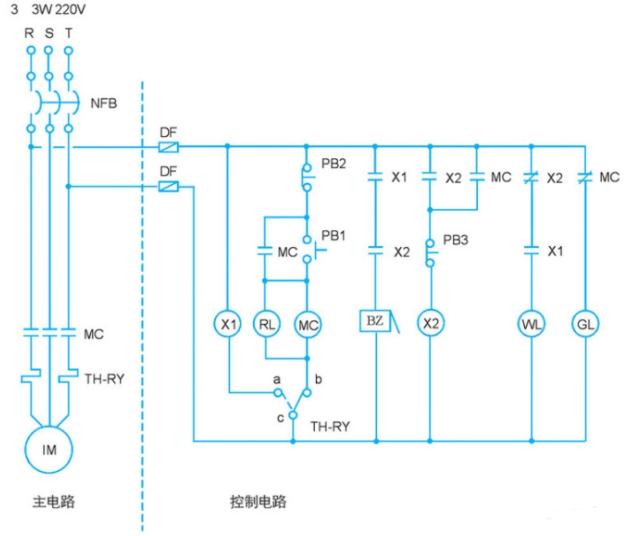 传统电工图转换为PLC梯形图的程序设计过程