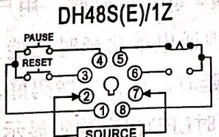 數顯時間繼電器DH48S系列使用說明書