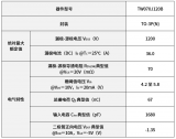 东芝推出新款1200V碳化硅MOSFET——TW...