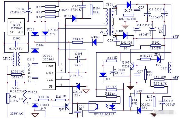 三星510N型显示器黑屏故障分析