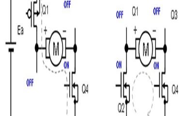 有刷直流电机的PWM驱动中其他电流再生方法
