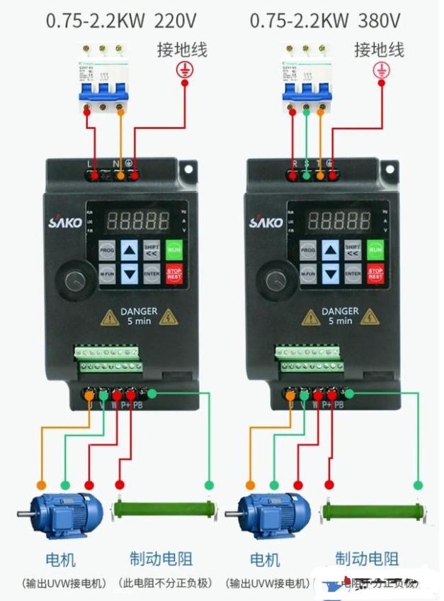 变频器制动电阻开路会影响制动吗?
