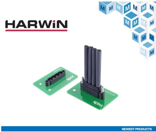 貿澤開售Harwin Kona高可靠性電源連接器...