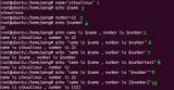 Linux中shell编程的使用