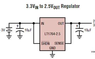 3A低壓差穩壓器芯片LT1764數據手冊