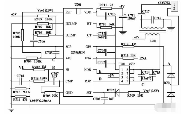OZ965的工作原理及故障檢修