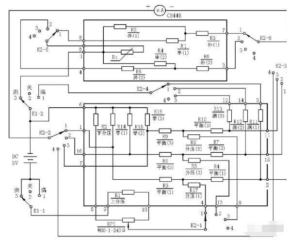 WMZ-03型温度指示仪的工作原理及使用方法