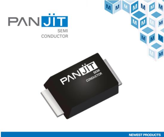 貿澤電子與PANJIT簽訂全球分銷協議