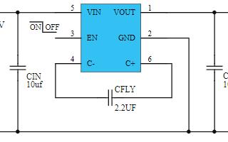 低噪聲DC-DC升壓開關電容倍壓器PW5410A