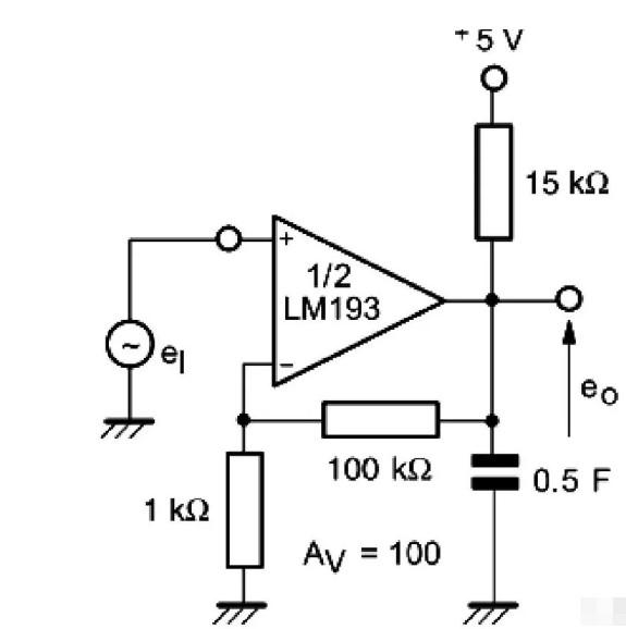 電壓比較器能當運算放大器用嗎?
