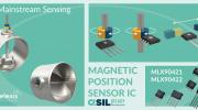 Melexis推出新款磁位置傳感器芯片,榮獲AEC-Q100認證并支持ASIL-B功能安全等級