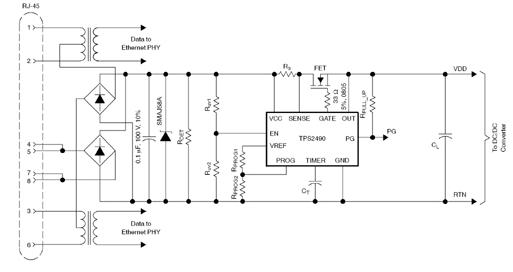用于標準意以外的IEEE 802.3af以太網供電解決方案