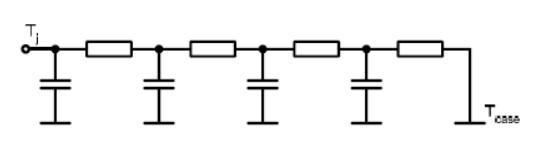 简要分析IGBT模块的等效热路模型