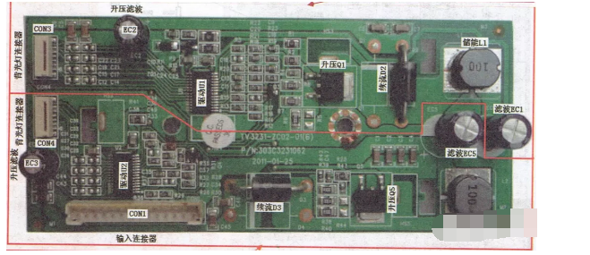 LED背光灯驱动控制电路原理及常见故障分析
