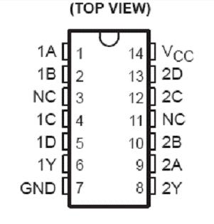 74LS20的功能、特点和真值表